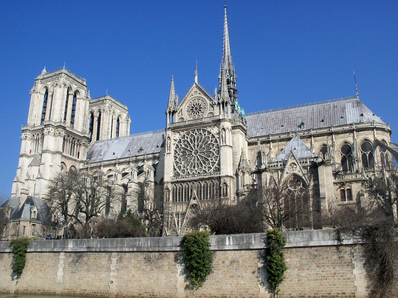 Exterior: Notre Dame Cathedral – Exterior